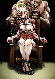 Bdsm Jota - you better suck like pros or you'll be swinging by your tits and getting your cunts whipped instead